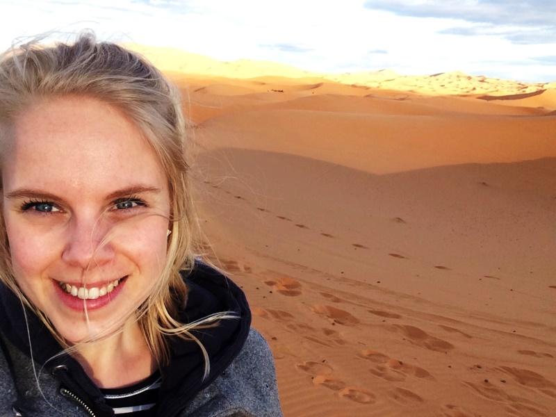 Teenager Merzouga Wüste