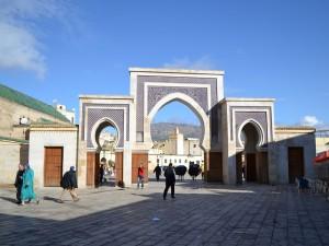 Städte in Marokko Stadttor in Fes nördliches Marokko