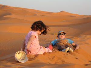 Zagora Wüste Marokko Familienreise Kinder