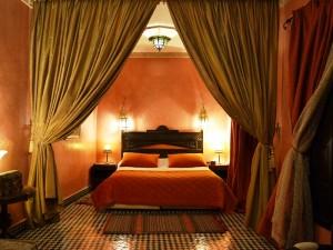 Schlafzimmer im Riad