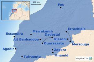 Bausteinübersicht Marokko Familienreisen