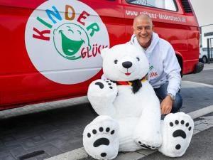 Kinderglück-Gründer Bernd Krispin