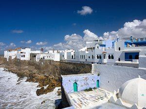 Städte in Marokko Weiterreise Asilah