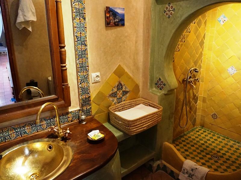 Badezimmer Riad Chefchaouen