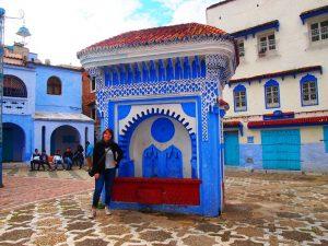 Städte in Marokko Rundreise Brunnen Chefchaouen