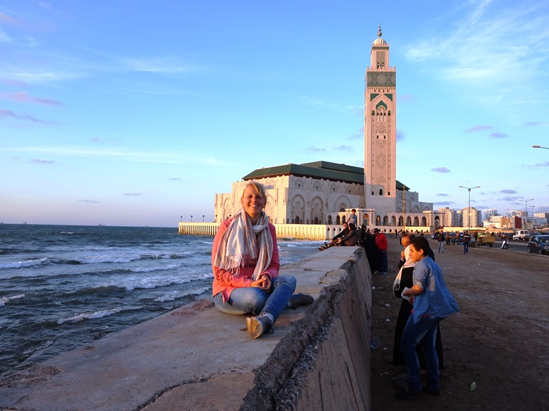 Moschee in Casablanca