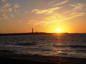 Sonnenuntergang in Casablanca