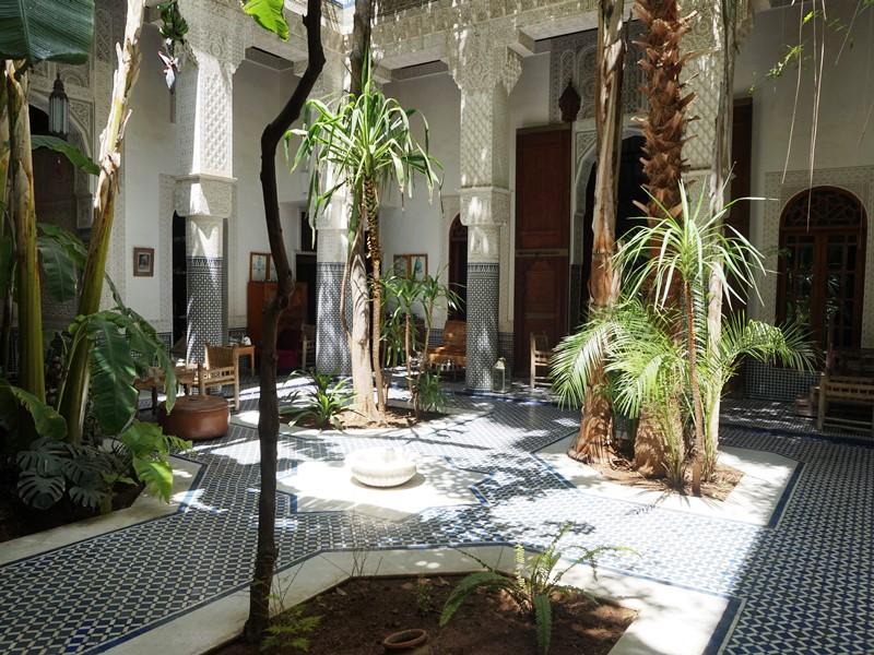 Hotel Rabat Innenhof
