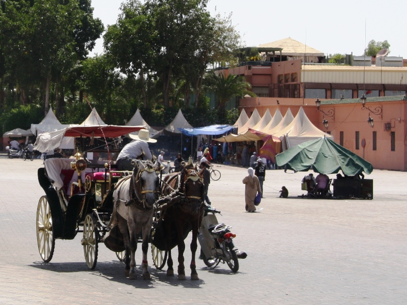 Kutsche in Taroudant