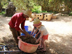 Marokko Kasbah bauen Lalla Takerkoust