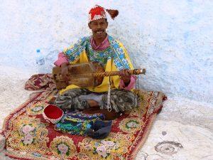 Rabat Marokko Königsstädte Straßenmusiker