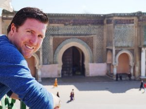 Marokko Königsstädte Meknes Stadttor Familienreise