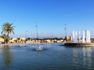 Brunnen Taroudant Familienreise Wanderung Marokko