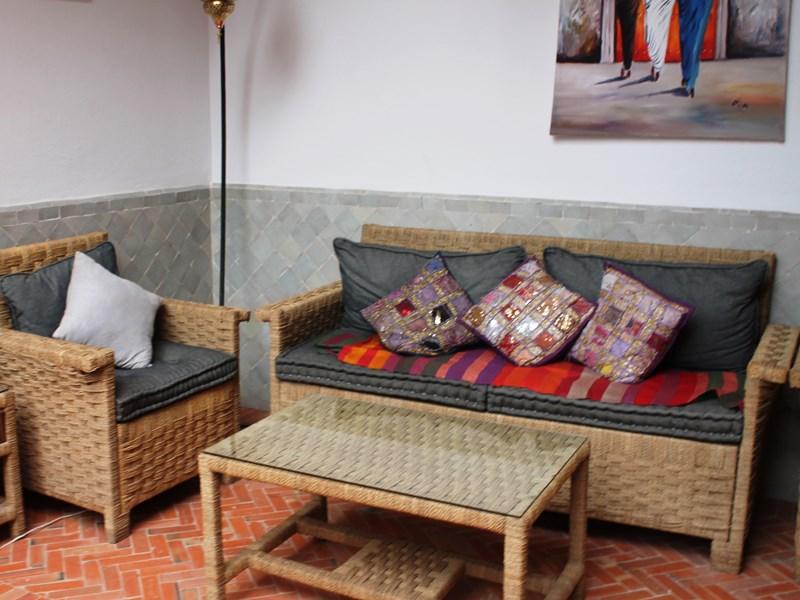 Sofa Riad mit Pool Taroudant