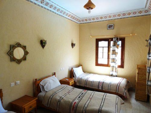 Hotelzimmer Todra Unterkunft Marokko