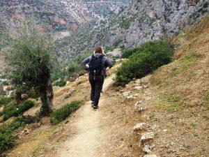 Städte in Marokko Wanderung Chefchaouen Rif Gebirge