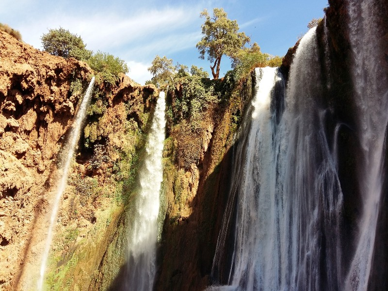 Wasserfall bei Ouzoud