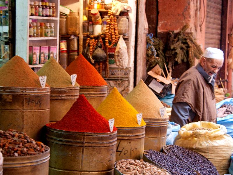 Farbenfrohe Königsstädte Marokkos