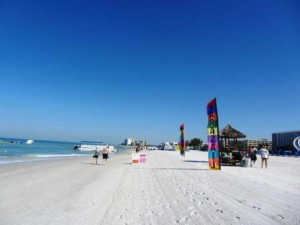 Florida Highlights: Strand und blauer Himmel in St. Pete Beach