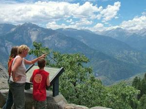 Ausblick auf den Yosemite Nationalpark