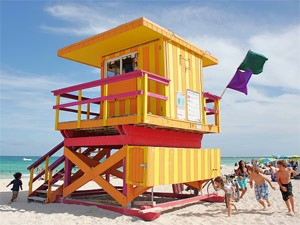 Sunshine State: Rettungsturm in Miami