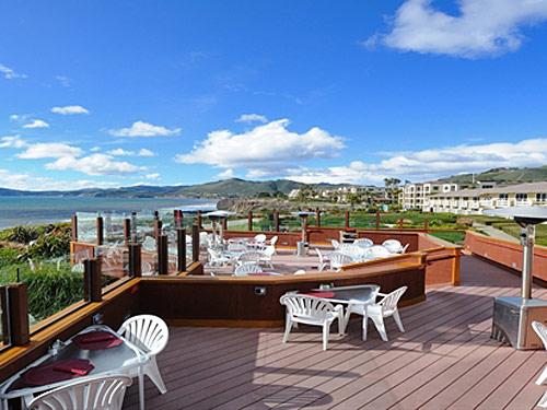 Terrasse Familienhotel Pismo Beach