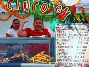 Kalifornien Rundreise: Tacostand in der Altstadt von San Diego