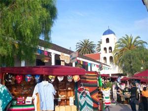 USA Familienreise: Altstadt von San Diego