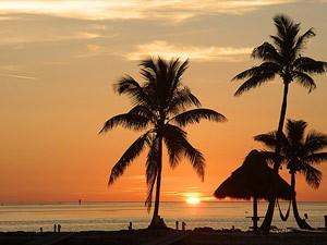 Upper Keys: Sonnenuntergang auf Islamorada
