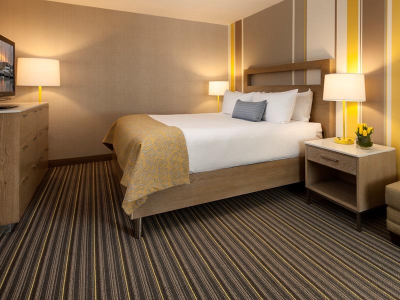 Zimmer im Strandhotel in San Diego