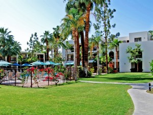 Gartenanlage in Palm Springs