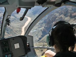 Südwesten USA: Aussicht aus dem Hubschrauber