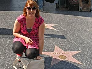 USA Familienreise: Sterne auf dem Walk of Fame in Los Angeles