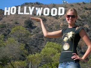 Wilde Westen: Hollywood Sign in Los Angeles