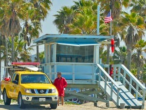 Baywatch Strandhaus in den USA