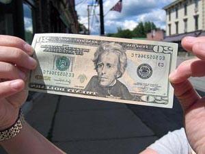 Dollar in den USA