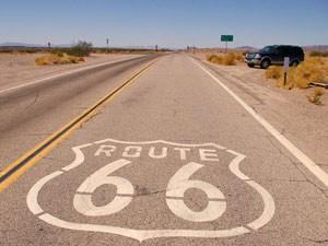 Route 66 Straße