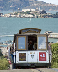 Südwesten USA: Historische Straßenbahn in San Francisco