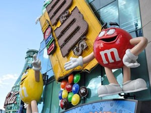 M&M Museum in Las Vegas