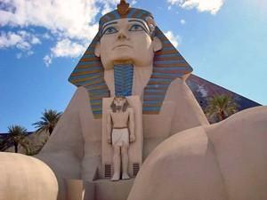 Limousine Las Vegas: Pyramidenhotel in Las Vegas