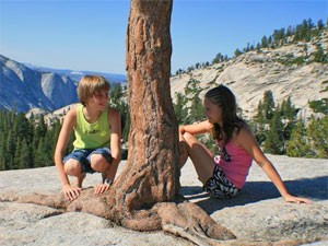 Yosemite Nationalpark mit Kindern