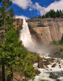 Wasserfälle im Yosemite National Park