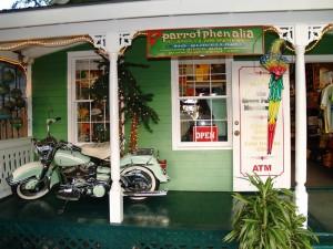 Bunte Shops auf den Floriday Keys