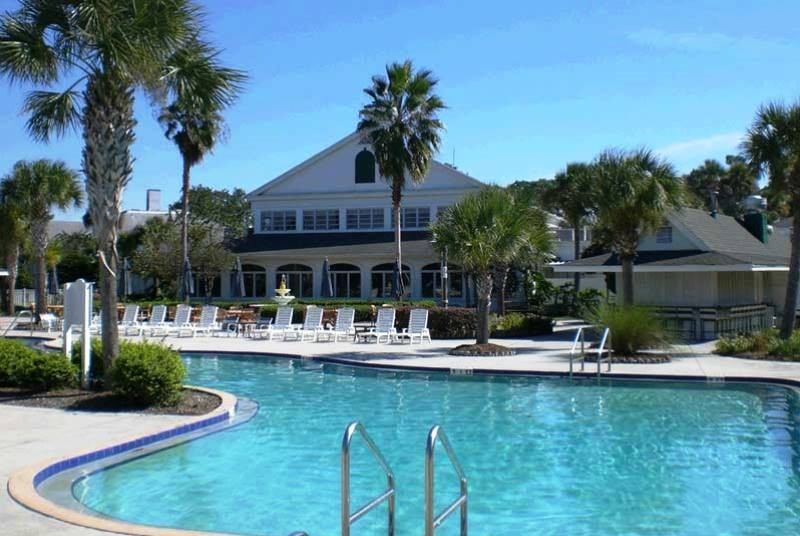 Hotelpool in Crystal River