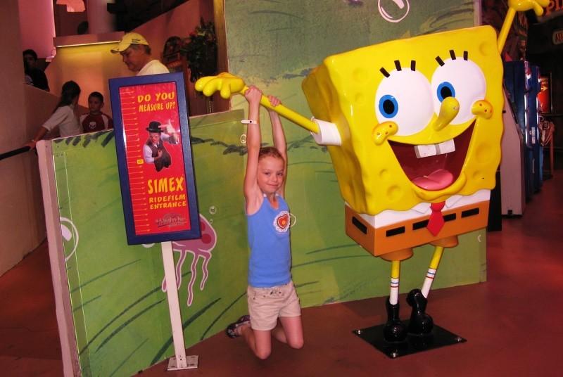 Kinder in den Universal Studios
