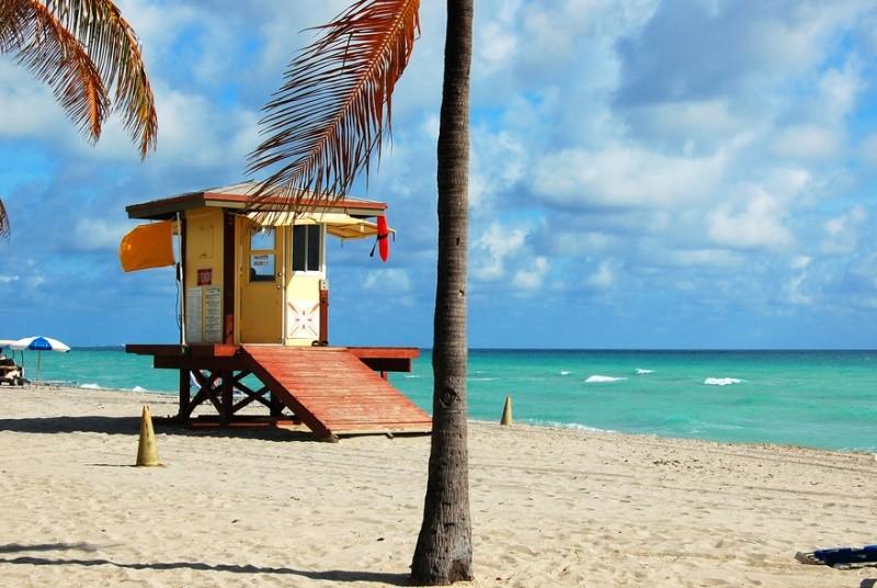Strandhaus bei Miami