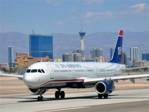 Flugzeug in den USA