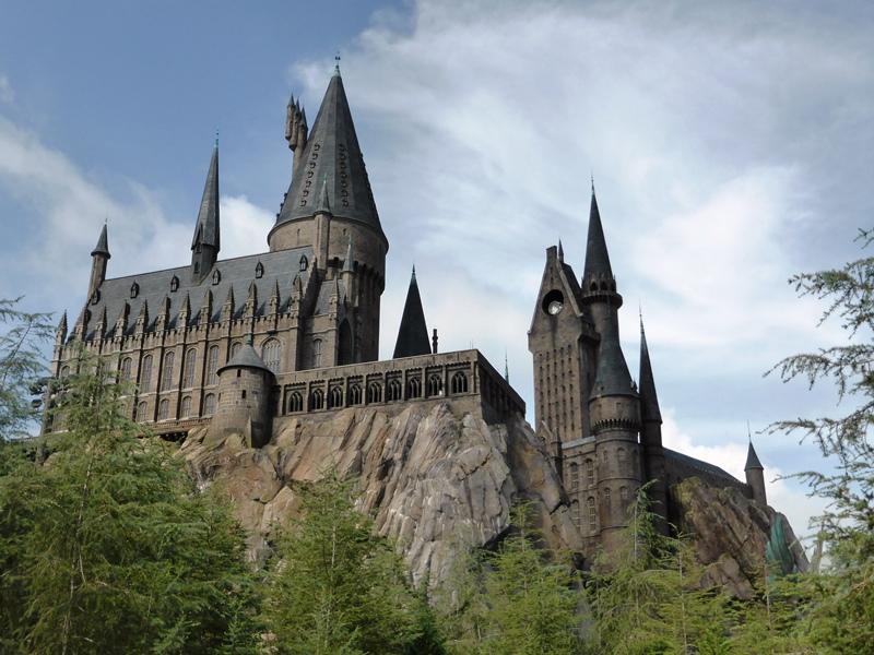 Filmschloss aus Harry Potter