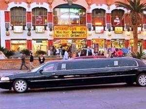 Limousine am Strip in Las Vegas
