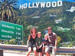 Hollywood mit der Familie bereisen